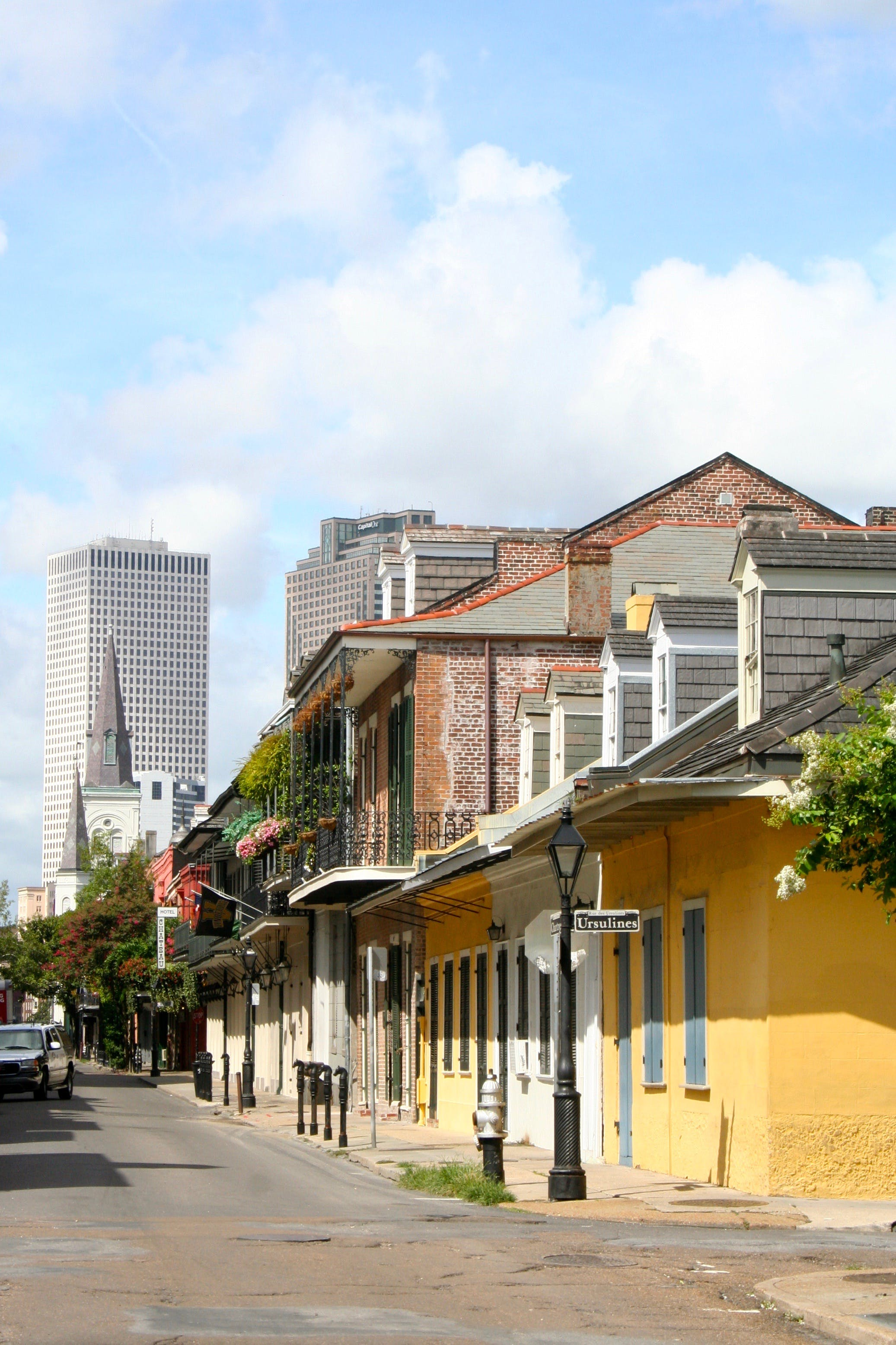 Free stock photo of French Quarter, new orleans, st louis cathedral