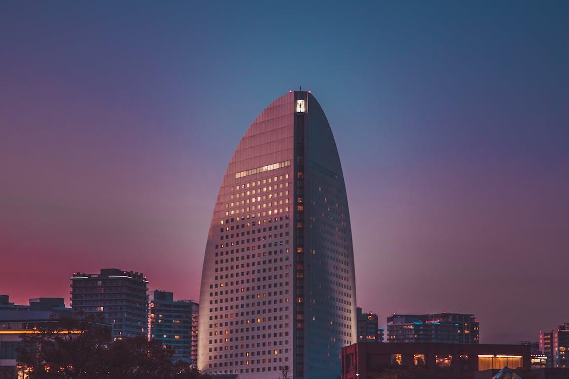 architektura, biuro, budynki