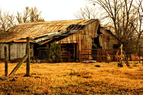 Free stock photo of abandoned building, barn, building