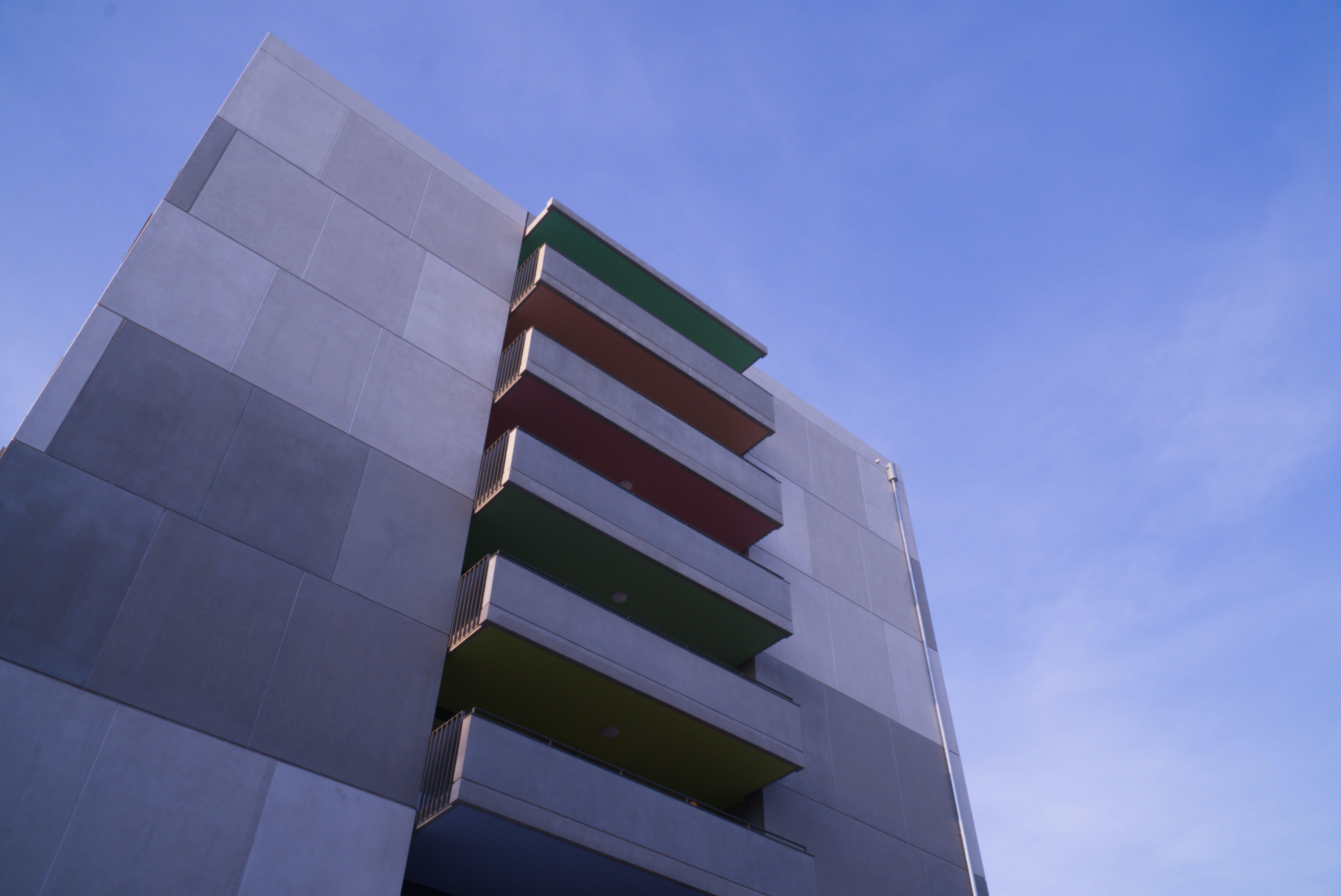 Free stock photo of blue sky, building, city, concrete