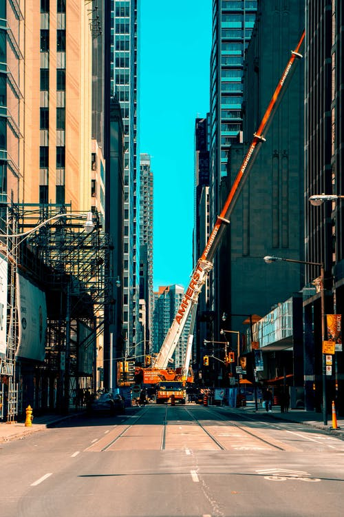 asfalt yok, bakış açısı, binalar, gökdelenler içeren Ücretsiz stok fotoğraf