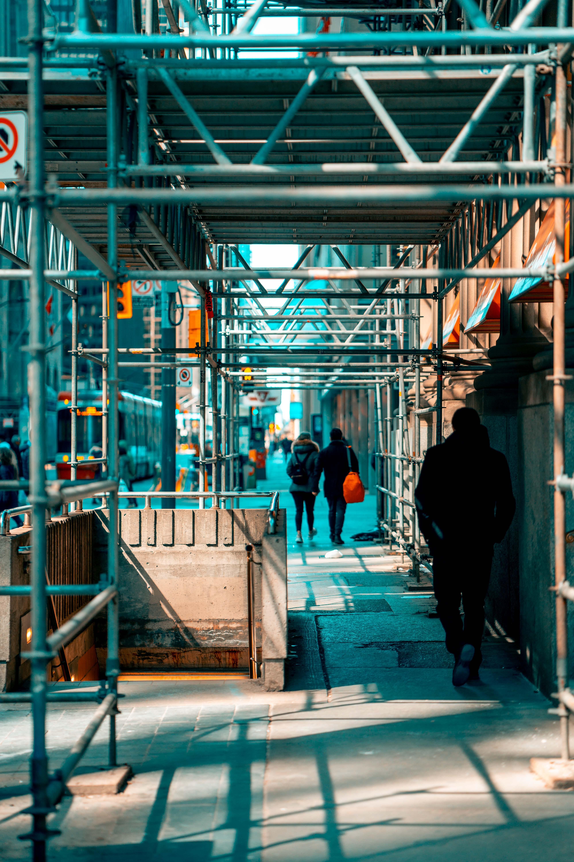Ingyenes stockfotó acél, emberek, építés, épület témában