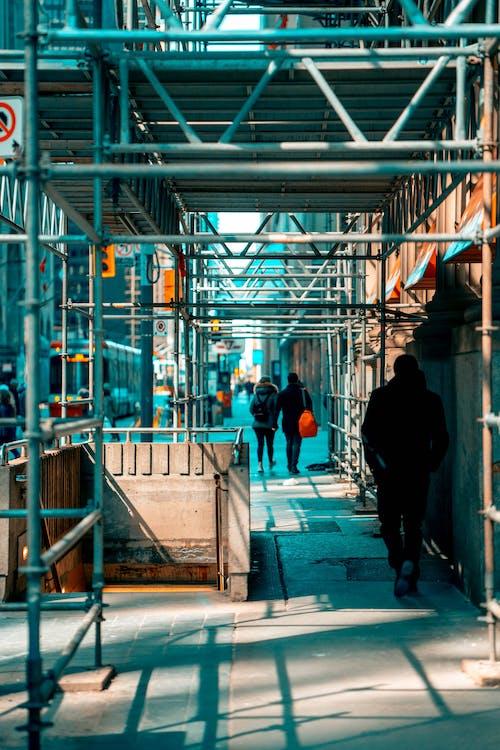 人行道, 修復, 商業, 城市 的 免费素材照片