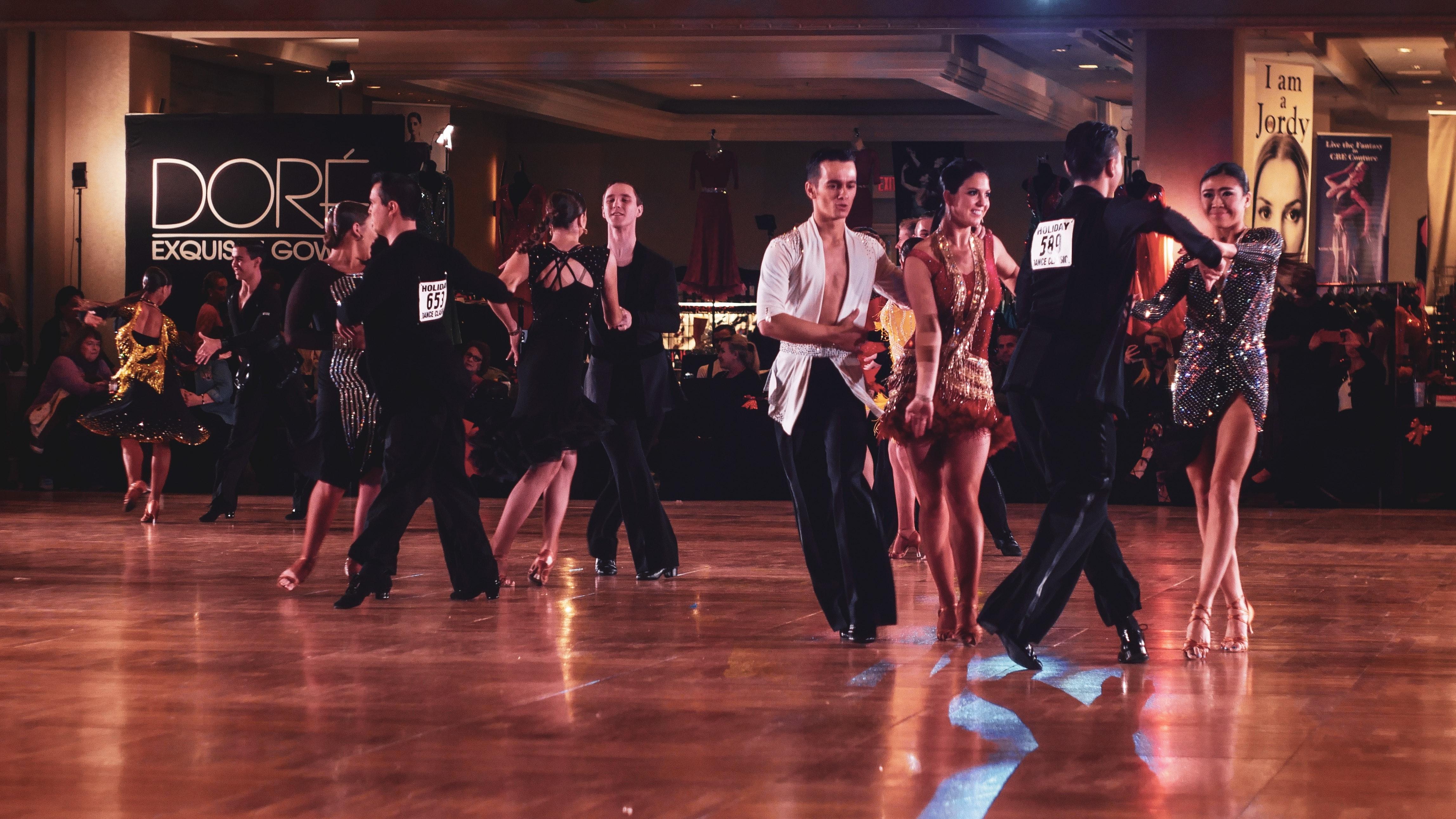 People Dancing On Dance Floor Free Stock Photo