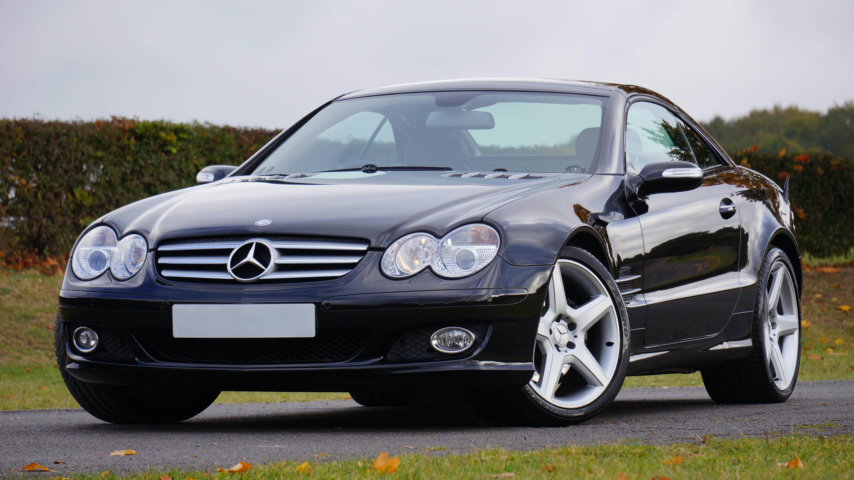 Black Mercedes Benz Vehicle