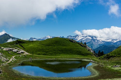 경치, 맑은 하늘, 산의 무료 스톡 사진