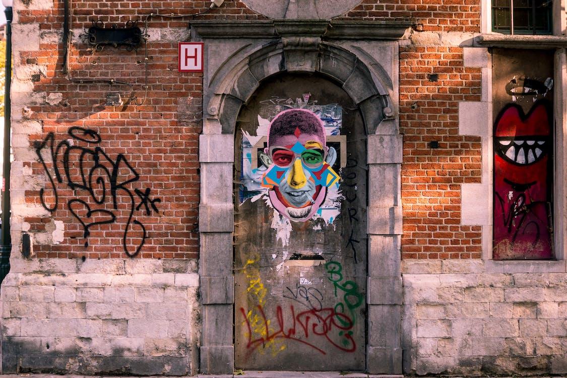 Free stock photo of brussels, graffiti, urban