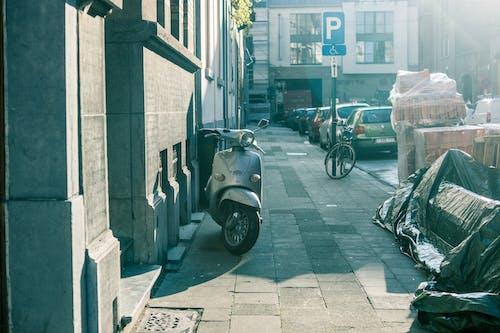 거리, 도시의, 베스파, 브뤼셀의 무료 스톡 사진