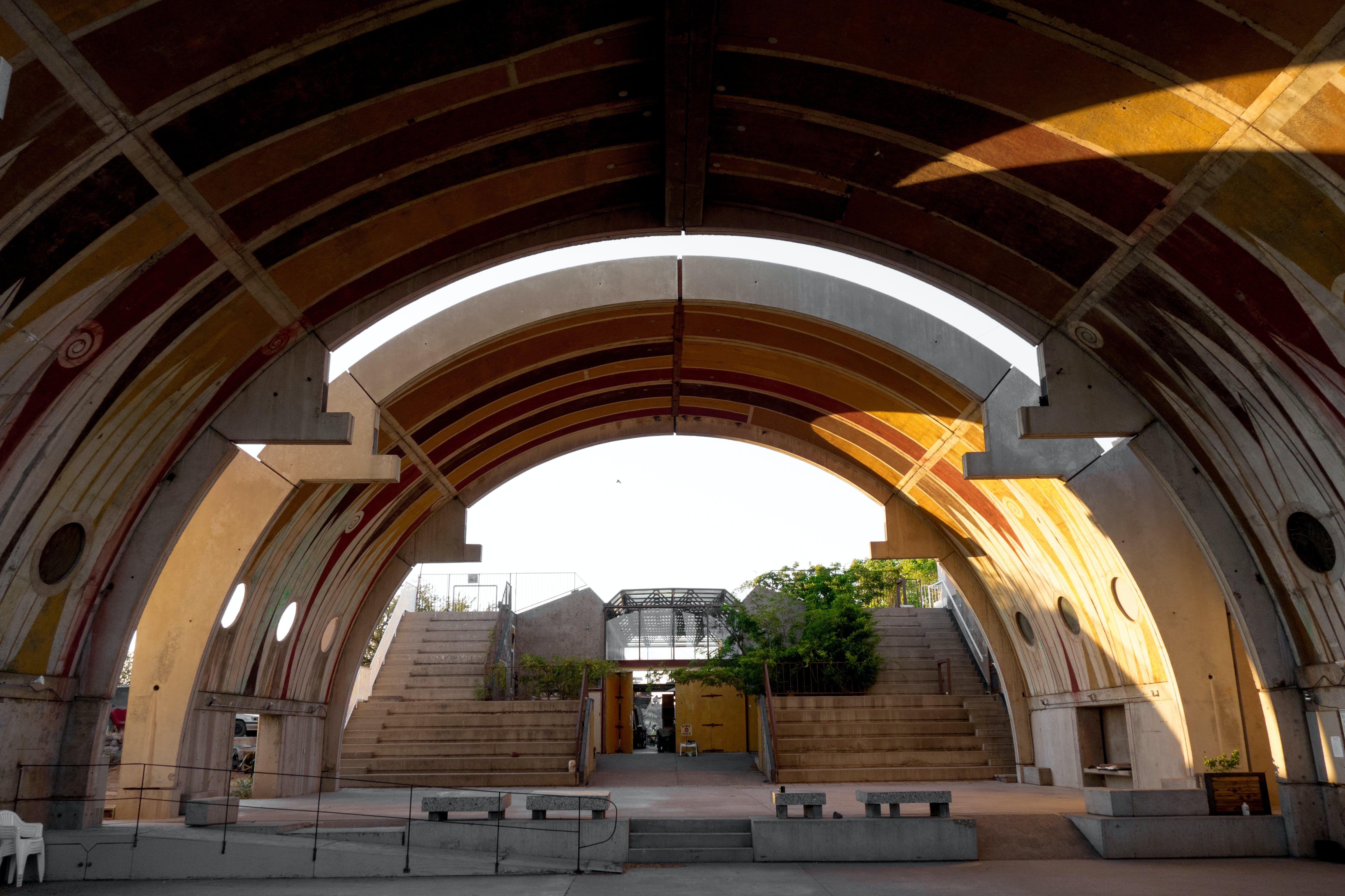Free stock photo of architecture, atrium, dome