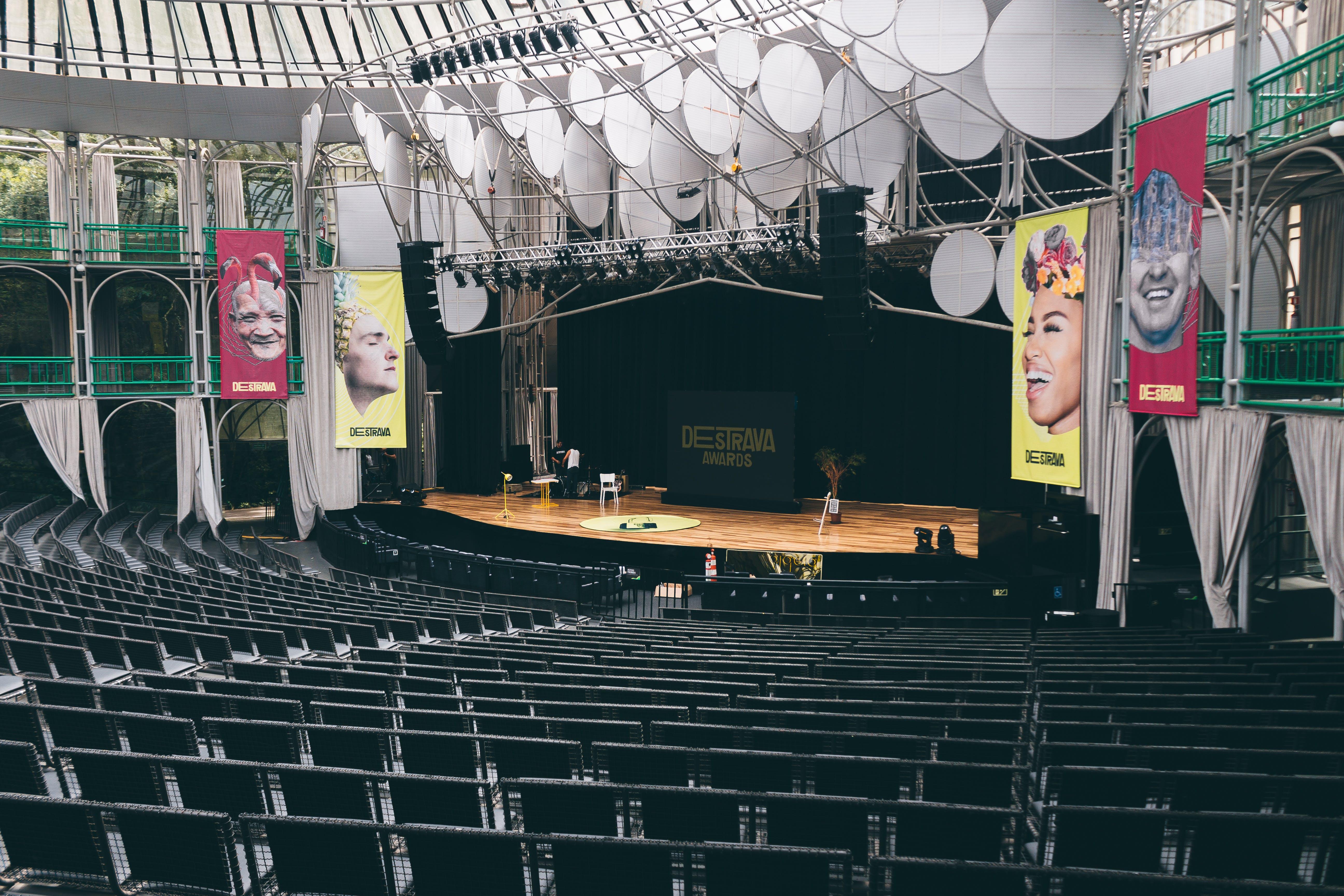 いす, ステージ, 会場, 座席の無料の写真素材