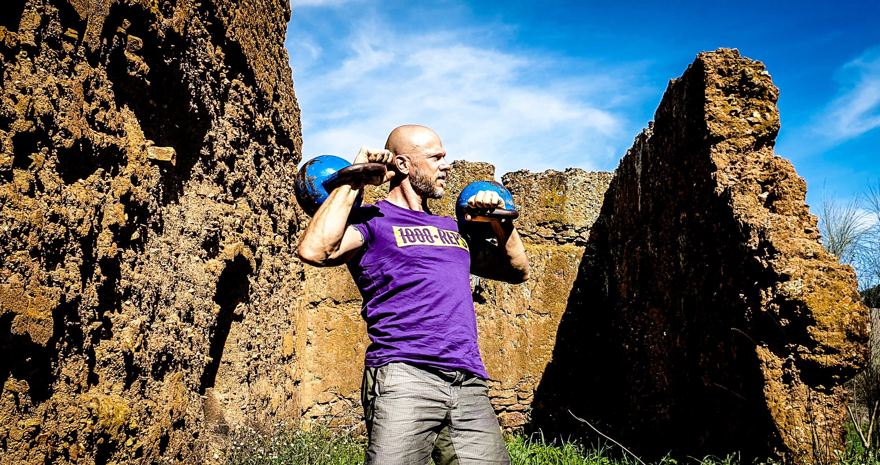 คลังภาพถ่ายฟรี ของ cavemantraining, การฝึกอบรม kettlebell, การออกกำลังกาย, ความแข็งแรง กรันจ์