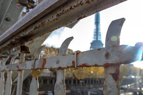 Foto d'estoc gratuïta de amor, bloquejar, cadenat de l'amor, França