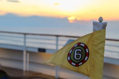 Foto d'estoc gratuïta de capvespre, esport, golf, oceà blau