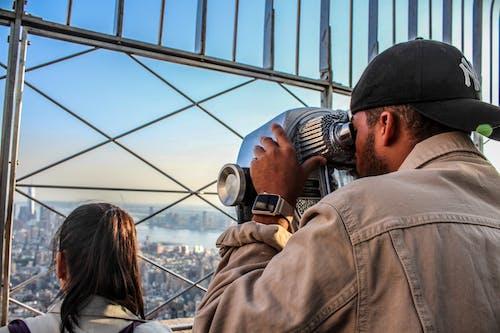Foto d'estoc gratuïta de edifici Empire State, Nova York, vistes