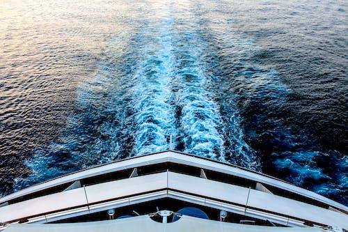 Foto d'estoc gratuïta de acomiadar-se, creuer, oceà blau, procés creatiu