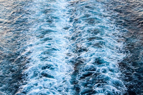 Foto d'estoc gratuïta de oceà blau, onades xocant