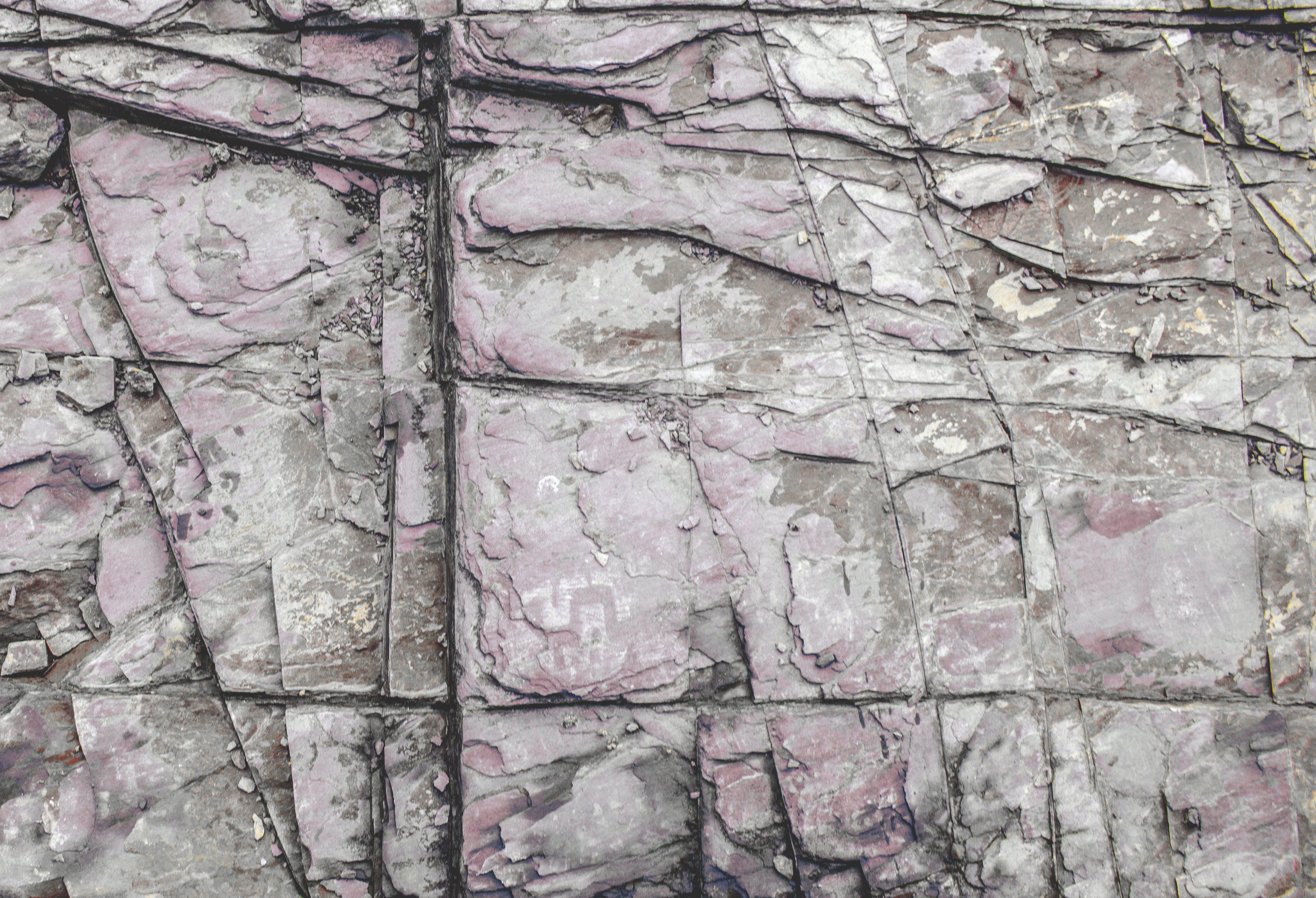 Foto d'estoc gratuïta de brut, pedra, pis, textura