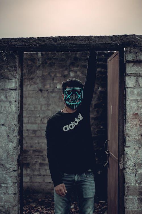Darmowe zdjęcie z galerii z czarny, dioda, horror, maska
