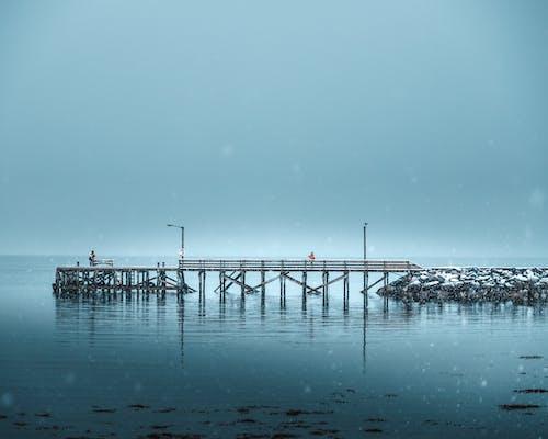 Gratis lagerfoto af anløbsbro, badebro, hav, havn