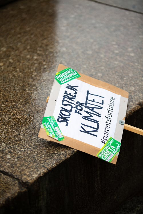 Free stock photo of banner, climate, climate activist