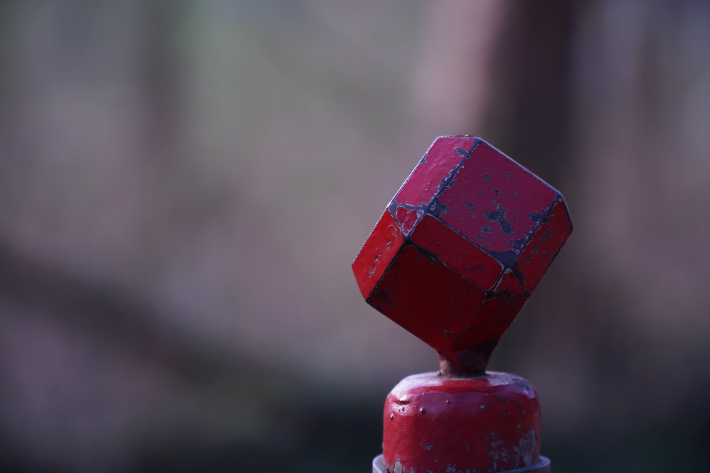 Free stock photo of cube