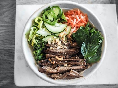 Fotos de stock gratuitas de apetecible, bol, carne, cocina