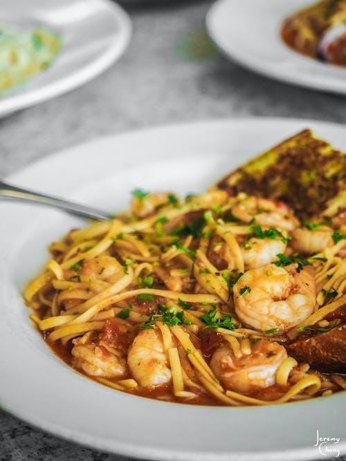 Foto profissional grátis de alimento, Camarão, camarões, carne