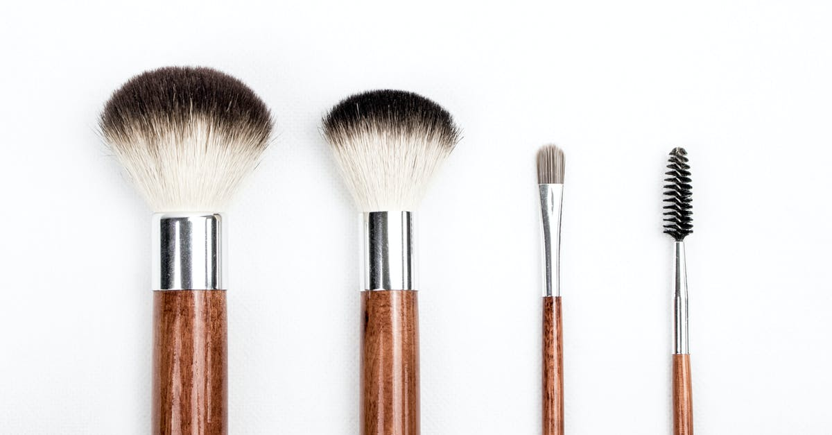 Brown and Silver Makeup Brush Set · Free Stock Photo