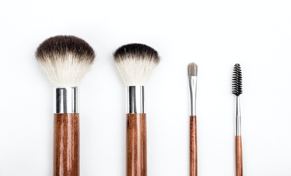 Brown and Silver Makeup Brush Set