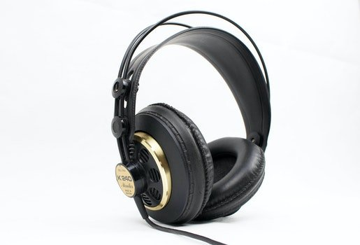 Black Corded Headset