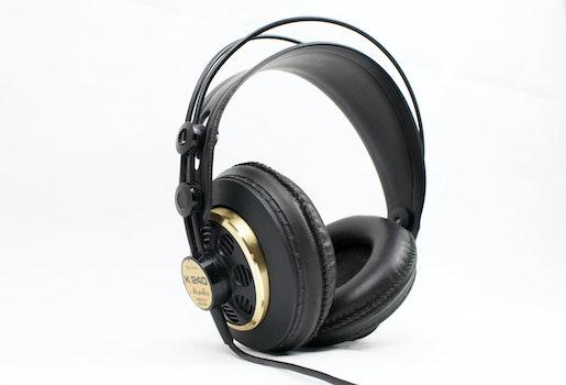 Black Corded Headset
