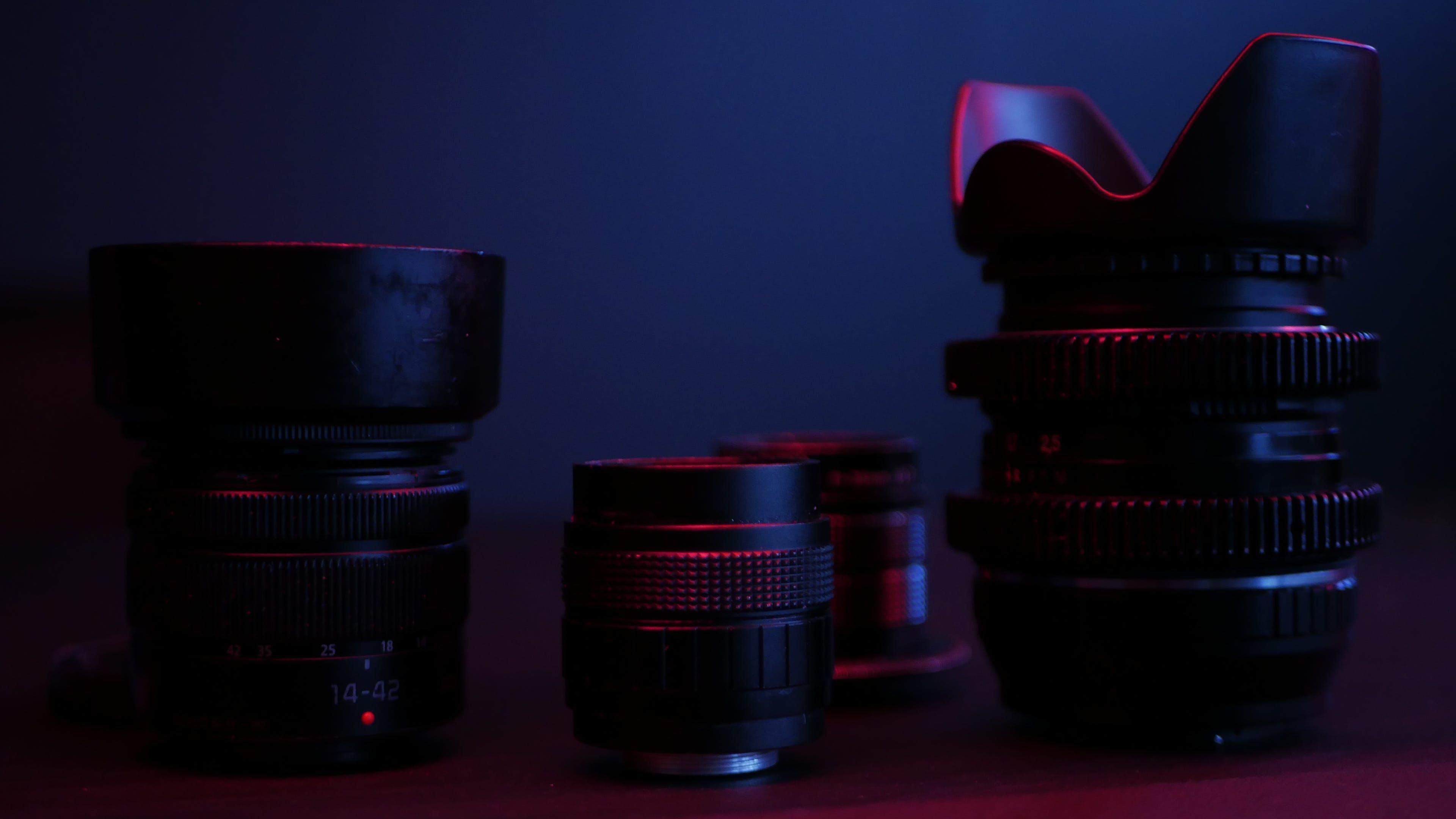 Fotos de stock gratuitas de equipo, lente, objetivo fotográfico