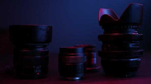 Gratis lagerfoto af kameralinse, linse, udstyr