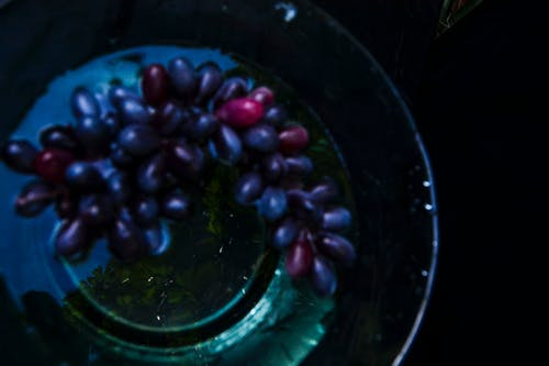 Free stock photo of blue, lime, purple, reflection
