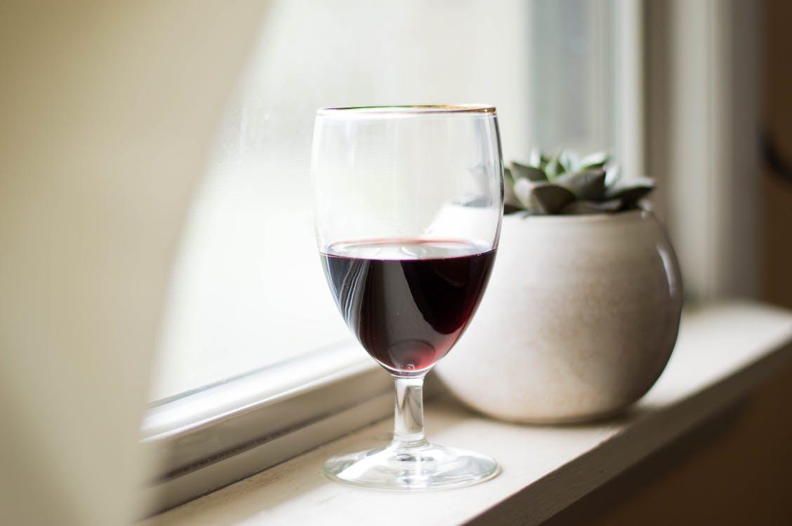 Foto profissional grátis de bebida, copo, copo de vinho