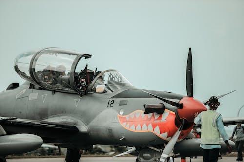 Бесплатное стоковое фото с Авиация, аэроплан, военно-воздушные силы, военный