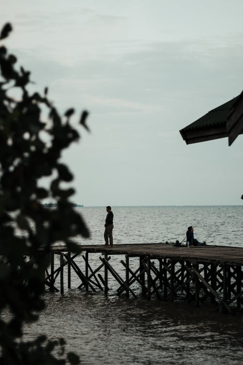 Základová fotografie zdarma na téma dok, molo, moře