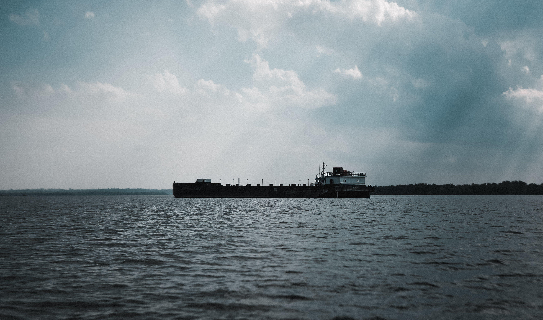 Základová fotografie zdarma na téma dopravní systém, loď, moře, nákladní loď