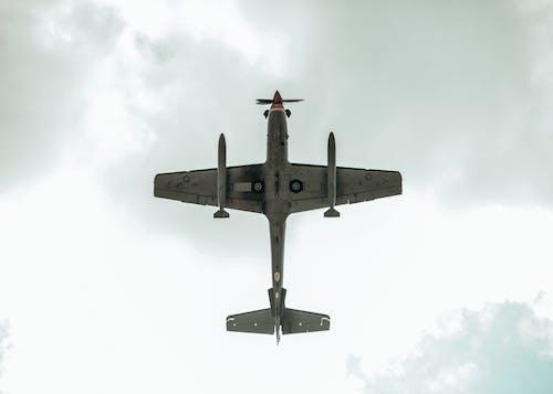 Fotos de stock gratuitas de aeronave, aviación, avión, perspectiva
