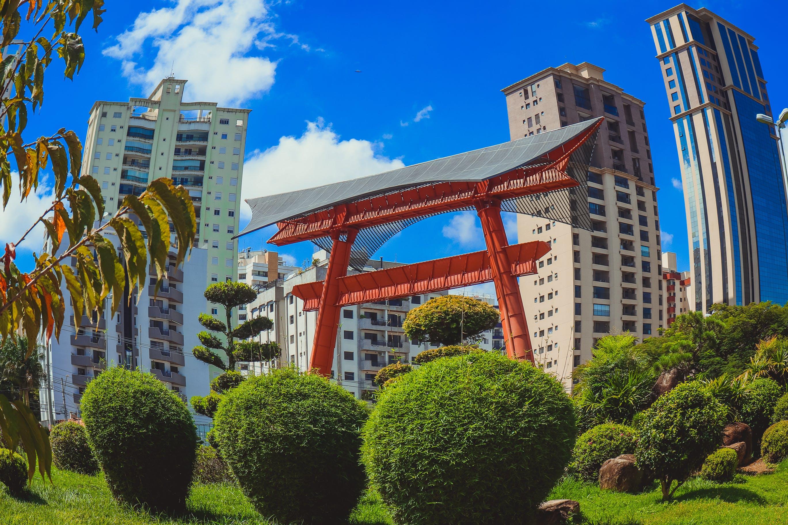 다채로운, 도시, 물고기 눈, 상파울루의 무료 스톡 사진