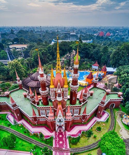 印尼, 城堡, 塔, 建築 的 免費圖庫相片