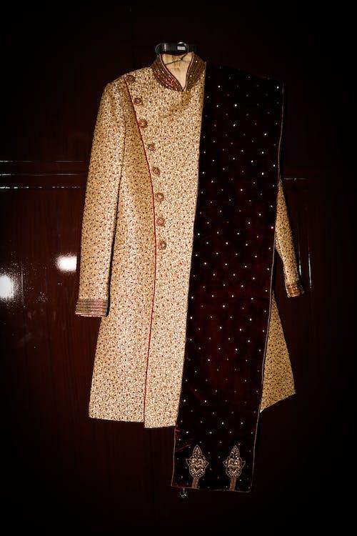 çamaşırlar, giyim eşyası, giysi, johdpuri takım elbise içeren Ücretsiz stok fotoğraf