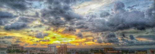 Akşam gökyüzü, bangladeş, bulutlar, bulutlu gökyüzü içeren Ücretsiz stok fotoğraf