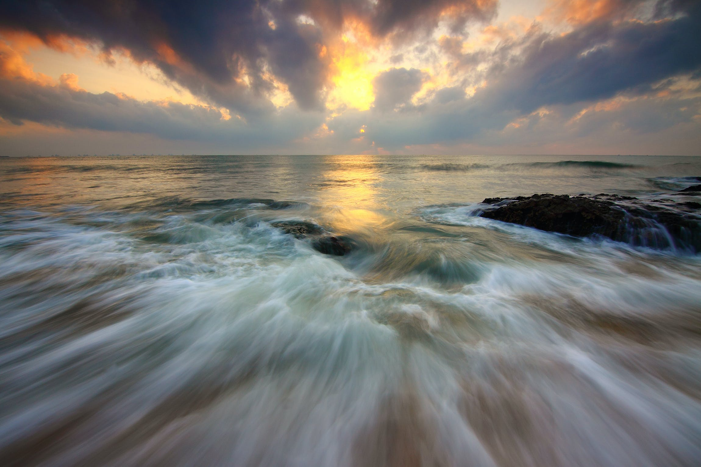 Free stock photo of dramatic, hobby, motion, seascape water