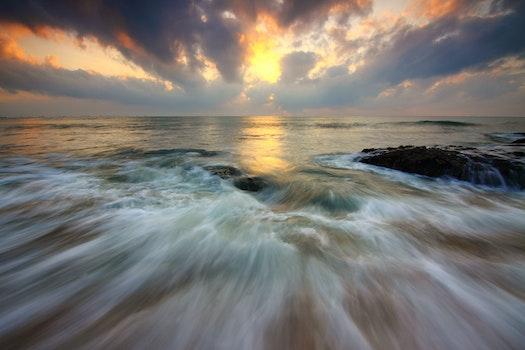 Free stock photo of sunrise, motion, dramatic, hobby