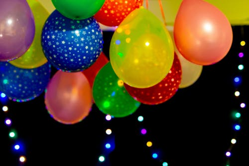 Kostenloses Stock Foto zu ballons, feier, geburtstagsfeier, helle farben