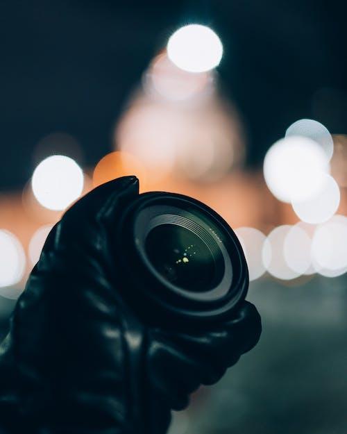 Shallow Focus Photo Of Camera Lens