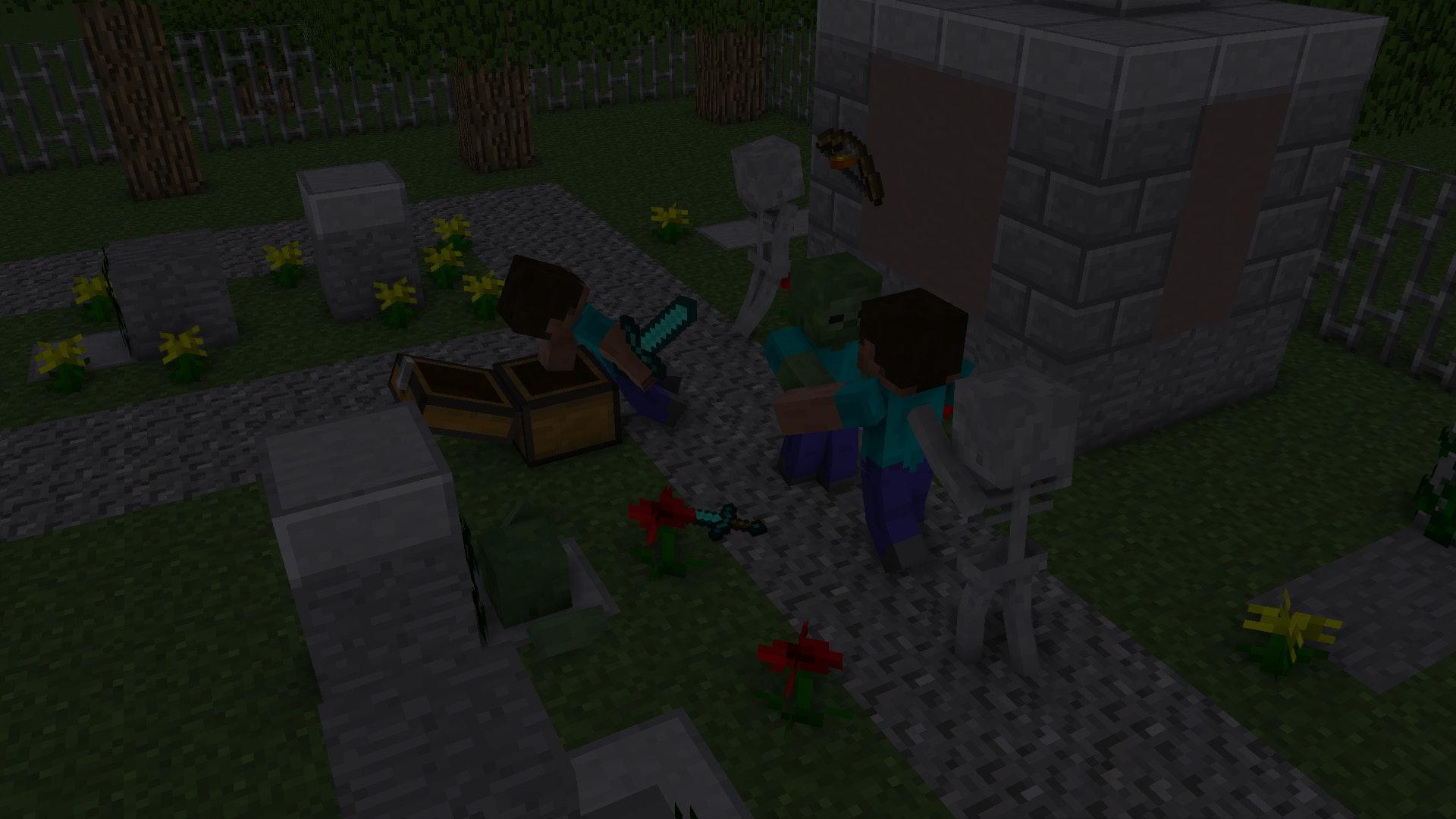 Photo Gratuite De Fond Décran Mc Minecraft