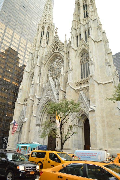Free stock photo of church, new york city