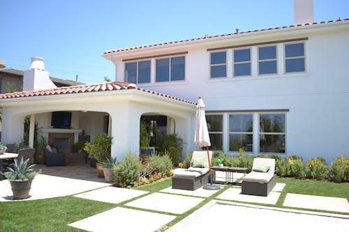 Free stock photo of family house, gardener